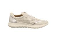 Caprice Damen 23750-197 Weißer Glattleder Sneaker