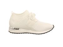 La Strada Damen 1806936-4504 Weiße Textil Sneaker