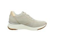Bugatti Damen Ivory Beigefarbener Synthetik Sneaker