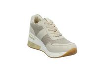 Tom Tailor Damen 1193804 Beigefarbener Synthetik/Textil Sneaker