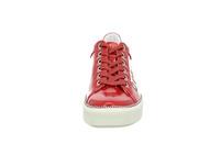 Bugatti Damen Kelli Rote Lack Sneaker