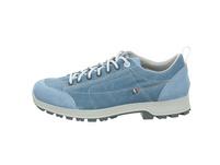 High Colorado Damen Florenz Canvas Low Blauer Leder/Textil Sneaker