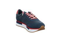 S.Oliver Damen 23651-805 Blauer Synthetik/Textil Sneaker