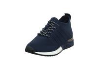 La Strada Damen 1832649-4560 Blauer Textil Sneaker