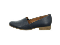 Tamaris Damen 24216-855 Blaue Glattleder Slipper