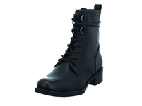 Tom Tailor Damen 9096102 BLACK Schwarzer Synthetik Boot