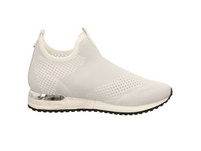 La Strada Damen 1805836/4504 Weiße Textil Slip on Sneaker
