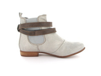 Blundstone Damen 1469 Grauer Leder/Textil Chelsea Boot