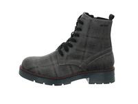 Tom Tailor Damen 9093509 GREY Grauer Textil Boot