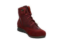 Think Damen Menscha Roter Veloursleder Boot