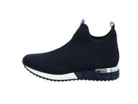 La Strada Damen 1805836-4560 Blaue Textil Sneaker