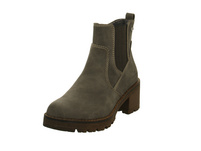 Tom Tailor Damen 7991605 Graue Synthetik Boots