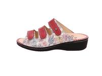 Finn Comfort Damen Pisa 2501/901810 Mehrfarbige Glattleder Pantoletten