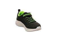 Skechers Kinder Bounder Zallow Schwarze Synthetik/Textil Sneaker
