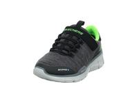 Skechers Kinder Equalizer 3.0 Grauer Mesh/Tex/Textil Sneaker