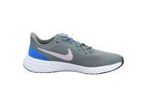 Nike Kinder Revolution 5 Grauer Synthetik/Textil Sneaker