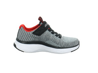 Skechers Kinder Solar Fuse Speed Grauer Synthetik/Textil Sneaker