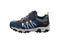 Geox Kinder J Magnetar B WPF B Blauer Synthetik/Textil Sneaker