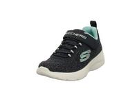 Skechers Kinder Dynamight 2.0 Tried N´True Blaue Leder/Mesh Sneaker