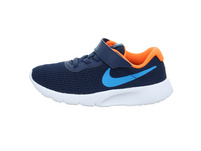 Nike Kinder Tanjun Blauer Textil Sneaker