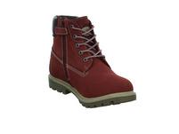 Dockers by Gerli Kinder 35FN730/300730 Rote Nubukleder Boots