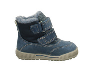Primigi Kinder 4368711 Blaue Nubukleder Winterboots