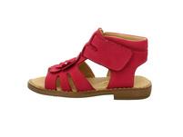 Sabalin Damen 53-2755 Rote Veloursleder Sandale