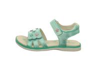 Lurchi Kinder Lulu Grüne Synthetik Sandale