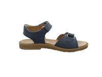 Primigi Kinder Amelia Blaue Glattleder Sandale