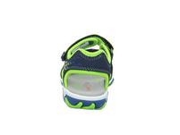 Superfit Kinder Mike 3.0 Blaue Synthetik/Textil Sandale