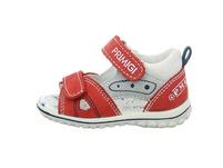 Primigi Kinder 5365333 Rote Synthetik/Textil Lauflernsandale