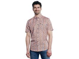 Kurzarm-Hemd mit All-Over Print