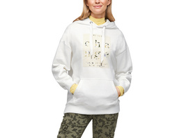 Hoodie mit Statement-Print - Sweatshirt