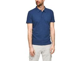 Baumwollshirt mit Polokragen - Poloshirt