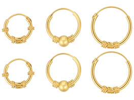 Ohr-Set - Mystic Gold