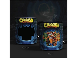 Crash Bandicoot - Thermo-Effekt Tasse