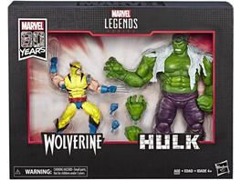 Marvel - Figuren Wolverine und Hulk