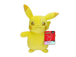 Pokémon - Plüschfigur Pikachu Monochrom