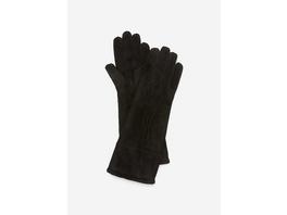 Unterarmlange Handschuhe