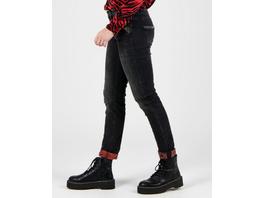 Jeans mit dekorativem Umschlag