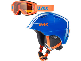 Uvex airwing 2 set Skihelm Kinder