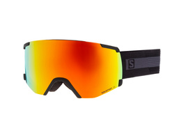 Salomon S/VIEW BkBrand/Uni Mid Red Skibrille