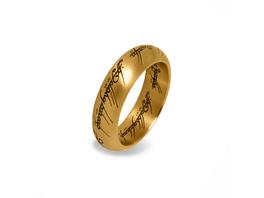Herr der Ringe - Der Eine Ring im Schmuckdisplay gold