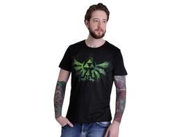 Zelda - Graffiti Logo T-Shirt schwarz