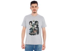 Naruto - Group T-Shirt grau
