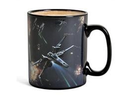 Star Wars - Space Battle Thermoeffekt Tasse