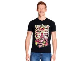 Rick and Morty - Anatomy Park T-Shirt schwarz