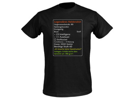 Level-60-Item Legendäres Helden Classic T-Shirt schwarz