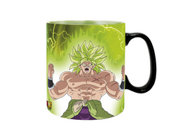 Dragon Ball - Gogeta vs. Broly Thermoeffekt Tasse