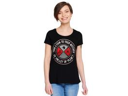 Toss a Coin Damen T-Shirt für Witcher Fans schwarz